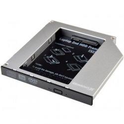 """Карман для ноутбука под 2.5"""" SSD/Sata винт (вместо привода) 12.7mm (HDC-25N)"""