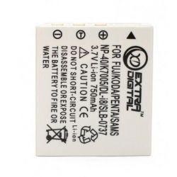 Аккумулятор Fuji NP-40, KLIC-7005, D-Li8/Li-18, Samsung SB-L0737, Extradigital, 750 mAh / 3.7 V, Li-Ion (BDF2468)
