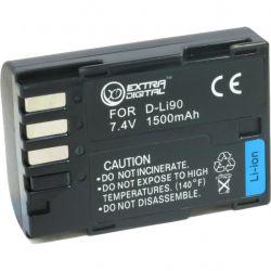 Аккумулятор к фото/видео EXTRADIGITAL Pentax D-Li90 (BDP2601)