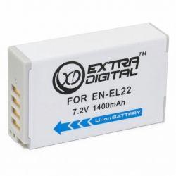 Аккумулятор к фото/видео EXTRADIGITAL Nikon EN-EL22 (BDN2683)