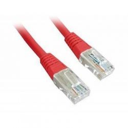 Патч-корд 1.5 м, UTP, Red, Cablexpert, литой, RJ45, кат.5е / PP12-1.5M/R