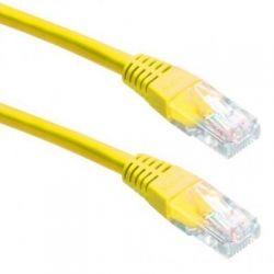 """Патч-корд литой 1,5м Cablexpert PP12-1.5M/Y категория. 5e, литый, 50u"""" штекер с щеколдой, 1.5 м"""
