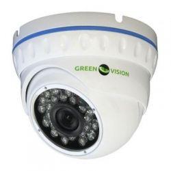 """Камера наружная AHD Green Vision GV-022-AHD-E-DOA10-20, White, 1/4"""" Aptina, 720p / 25 fps, f=3.6 mm, 0.01 Lux, ИК подсветка до 20 м, IP66, 450 г"""
