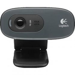 WEB камера Logitech HD C270 (960-001063) Black / 3Mp / 1280x720 / USB2.0 / Микрофон