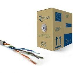 Кабель сетевой Ritar UTP 305м КВП(4*2*0,49)[СCA] (7455)
