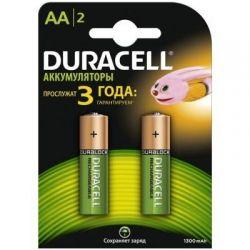 Аккумулятор Duracell AA HR6 1300mAh * 2 (81367175)