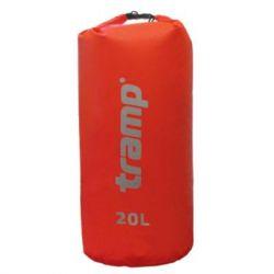 Гермомешок Tramp PVC 20 красный (TRA-102)
