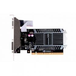 Видеокарта GeForce GT710, Inno3D, 2Gb DDR3, 64-bit, VGA/DVI/HDMI, 954/1600MHz, Silent (N710-1SDV-E3BX)