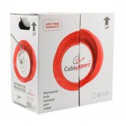 Кабель UTP для внутренней прокладки Cablexpert UPC-5248E-SOL 5e, 2 пары, 0,48мм, 305м