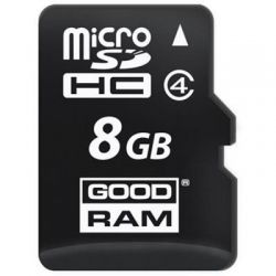 Карта пам'яті Class 4 8GB microSDHC no adapter GOODRAM M400-0080R11