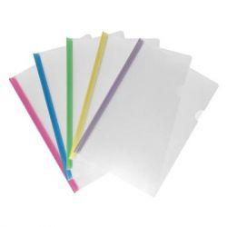 Папка-скоросшиватель Axent А4, планка 8мм, assorted colors (1418-00-А)
