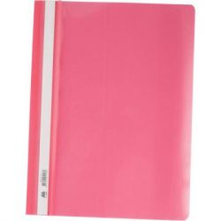 Папка-скоросшиватель BUROMAX А4, PP, pink (BM.3311-10)