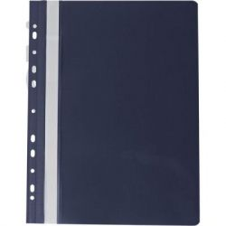 Папка-скоросшиватель BUROMAX А4, perforated, PVC, black/ PROFESSIONAL (BM.3331-01)