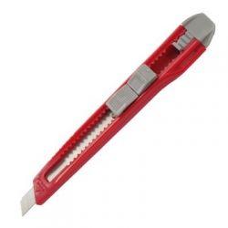 Нож канцелярский Axent 9 мм, blister, gray-red (6501-А)