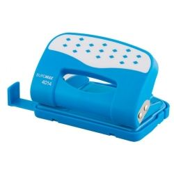 Дырокол BUROMAX plastic, 12sheets, blue (BM.4014-14)