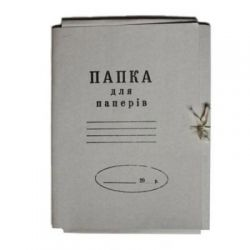 Папка на завязках BUROMAX А4, carton 0,4мм (glued flap) (BM.3356)