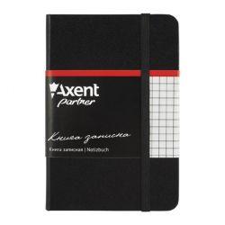 Канцелярская книга Axent Partner, 95*140, 96sheets, square, black (8301-01-А)
