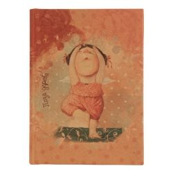 Канцелярская книга Axent крафт A6, 96sheets, square, Gapchinska (8404-04-А)