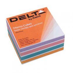 """Бумага для заметок Delta by Axent """"COLOR"""" 90Х90Х30мм, glued (D8024)"""