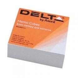Бумага для заметок Delta by Axent білий 80Х80Х20мм, glued (D8002)