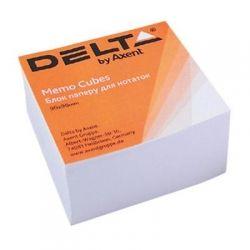 Бумага для заметок Delta by Axent білий 90Х90Х30мм, unglued (D8003)