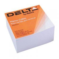 Бумага для заметок Delta by Axent білий 90Х90Х30мм, glued (D8004)
