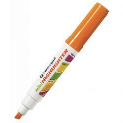Маркер Centropen Fax 8052 1-4,6 мм, chisel tip, orange (8052/06)