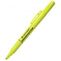 Маркер Centropen Fax 8722 1-4 мм, chisel tip, yellow (8722/05)