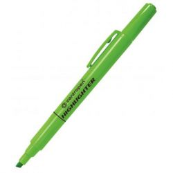 Маркер Centropen Fax 8722 1-4 мм, chisel tip, green (8722/04)