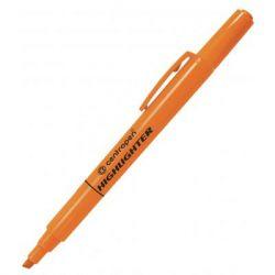 Маркер Centropen Fax 8722 1-4 мм, chisel tip, orange (8722/06)