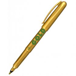 Маркер Centropen GOLD & SILVER 2670 M 1 мм, Gold color (2670/12)