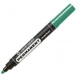 Маркер Centropen Permanent 8566 2,5 мм, round tip, green (8566/04)