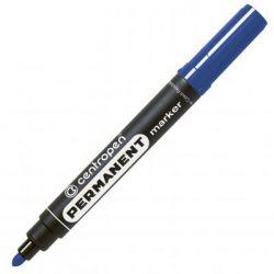 Маркер Centropen Permanent 8566 2,5 мм, round tip, blue (8566/03)