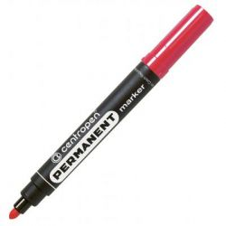 Маркер Centropen Permanent 8566 2,5 мм, round tip, red (8566/02)