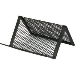 Подставка для визиток Axent 95x80x60мм, wire mesh, black (2114-01-A)