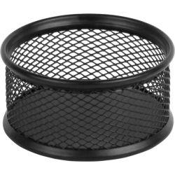 Подставка для скрепок Axent 80x80x40мм, wire mesh, black (2113-01-A)