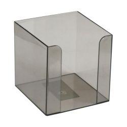 Подставка-куб для писем и бумаг Delta by Axent 90x90x90 мм, charcoal-grey (D4005-28)