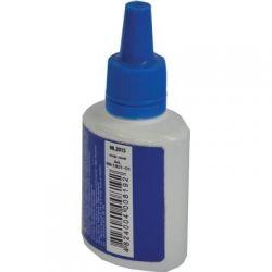 Краска штемпельная BUROMAX 30мл, blue (BM.1901-01)