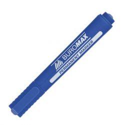 """Маркер BUROMAX Permanent """"JOBMAX"""", round tip, blue (BM.8700-02)"""