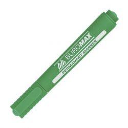 "Маркер BUROMAX Permanent ""JOBMAX"", round tip, green (BM.8700-04)"