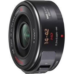 Объектив PANASONIC Micro 4/3 Lens 14-42 mm F3.5-5.6290 (H-PS14042E-K)