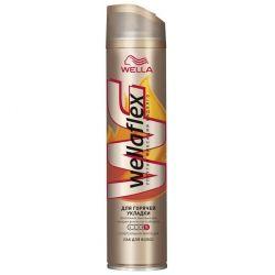 Лак для волос WellaFlex для гарячей укладки Супер сильная фиксация 250 мл (4056800965564)