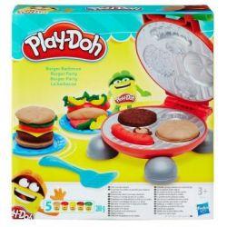 Набор для творчества Hasbro Play-Doh Бургер гриль (B5521)