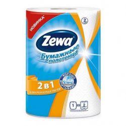 Бумажные полотенца Zewa 2 в 1 2-слойные 1 шт (7322540827743)