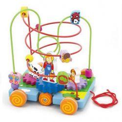 Развивающая игрушка Viga Toys Лабиринт Машинка (50120)