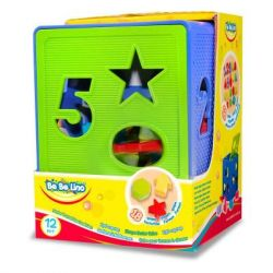Развивающая игрушка BeBeLino Куб-сортер (57116)