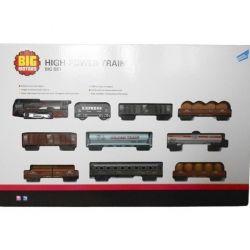 Игровой набор Big Motors Железная дорога с 9 вагонами (19033-8)