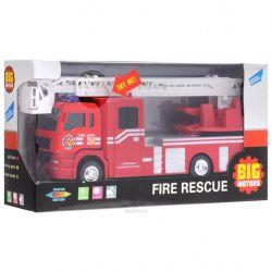 Спецтехника Big Motors Пожарная машинка инерционная (JL81016)
