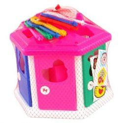 Развивающая игрушка POLESIE Логический домик в сеточке (6196)
