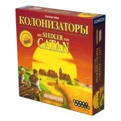 Настольная игра Hobby World Колонизаторы 4-е русское издание (4620011815767) - Картинка 1